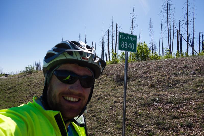 The final 8000+ foot summit