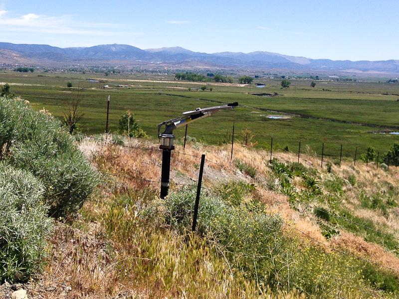Super soaker near Carson City