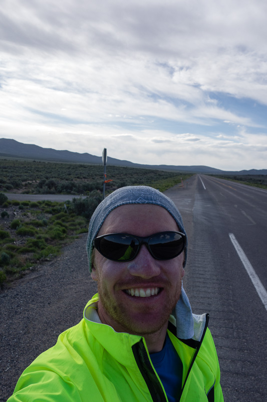Near the end of the brutal ride from Eureka to Ely