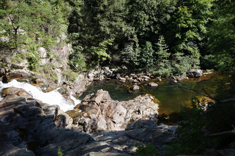 Lower Jacks River Falls